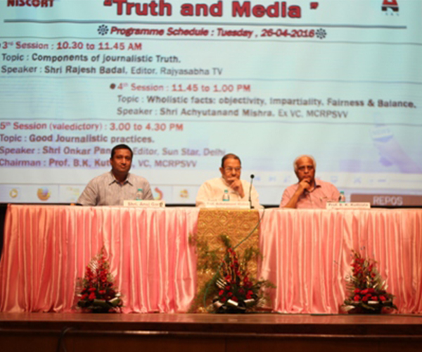 National Seminar on Truth and Media