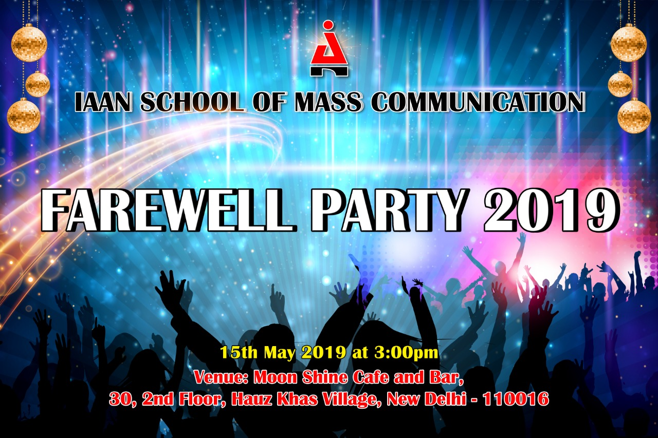 11.05.19 - Farewell Party 2019