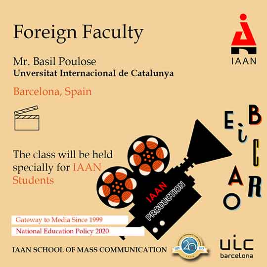 Foreign Faculty, Barcelona SPAIN