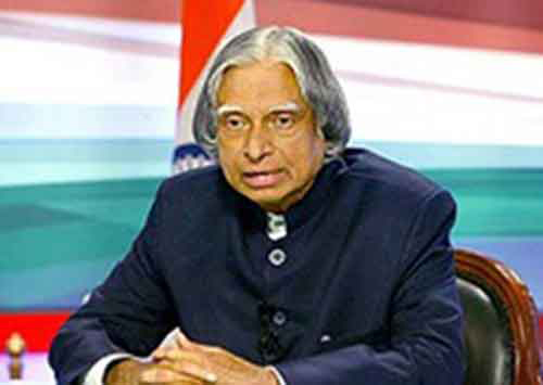 Blessings from Dr. A.P.J Abdul Kalam