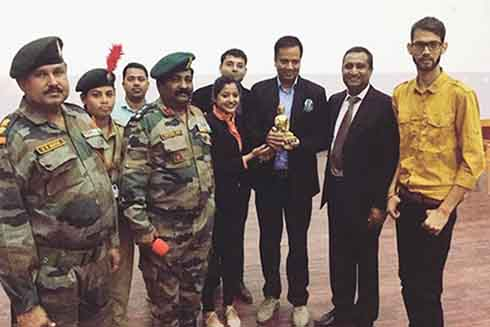 Collaboration with Indian Army