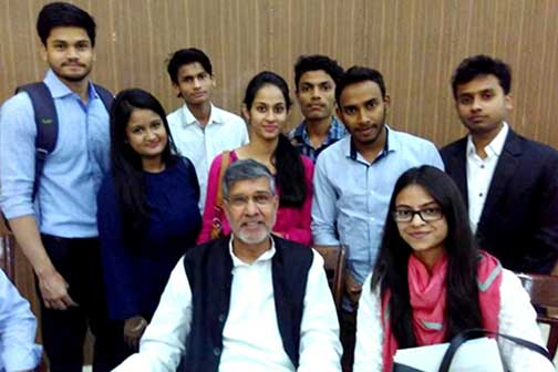 Partnership with Kailash Satyarthi